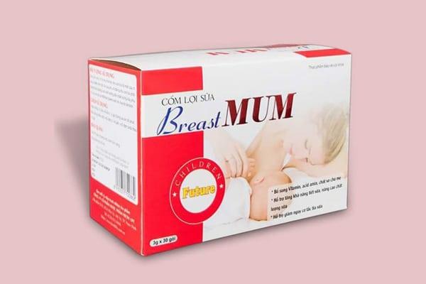 BreastMum chứa các thành phần đã được chứng nhận an toàn, hiệu quả