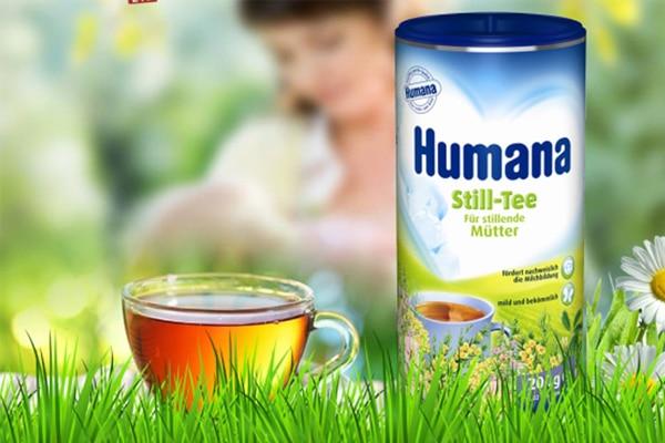 Trà thảo mộc Humana dễ uống, dễ sử dụng