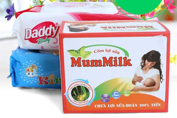Cốm lợi sữa MumMilk được nhiều người tin dùng