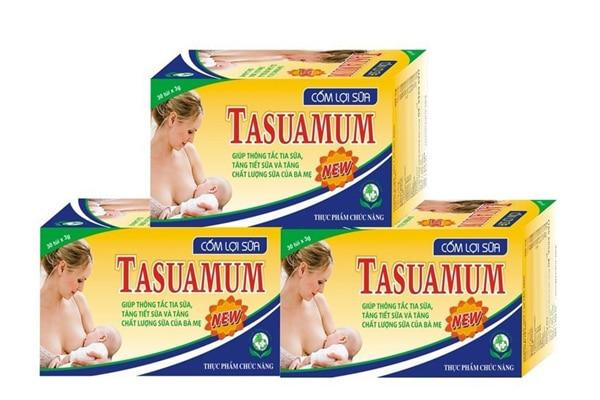 Cốm lợi sữa Tasuamum rất được người tiêu dùng yêu thích