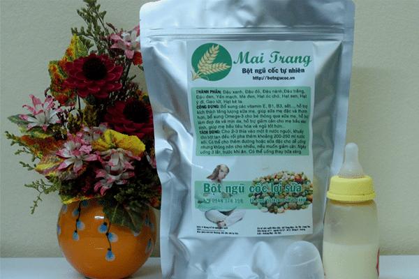 Mai Trang là đơn vị chuyên cung cấp bột ngũ cốc lợi sữa