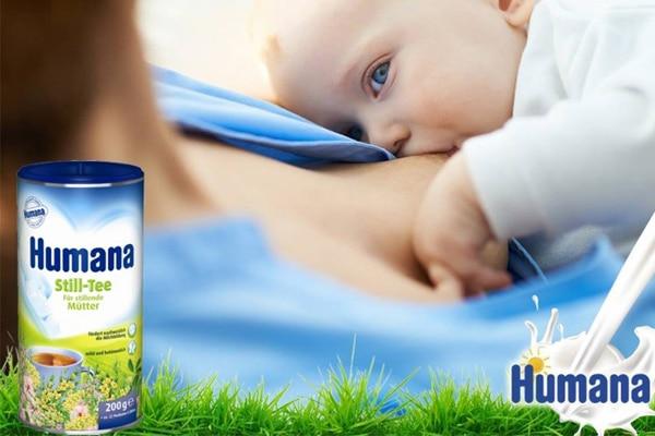 Humana Still Tee giúp các mẹ sau sinh cải thiện được lượng sữa