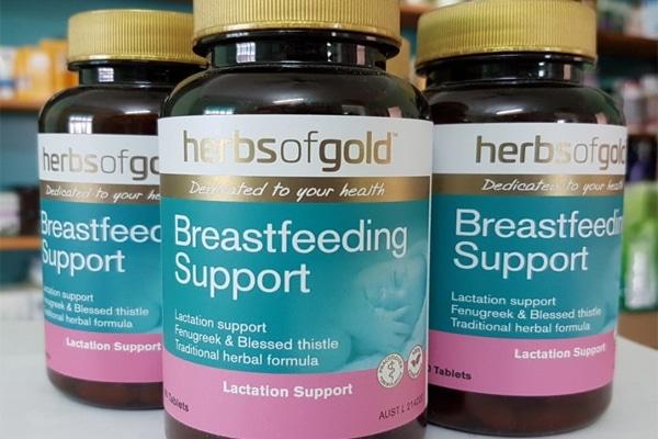 Viên lợi sữa Úc được điều chế dạng viên nén, dễ dàng sử dụng