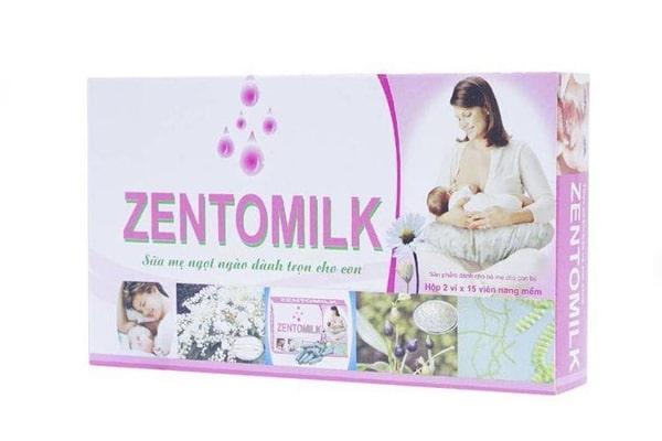 Thuốc lợi sữa Zentomilk được nhiều khách hàng quan tâm