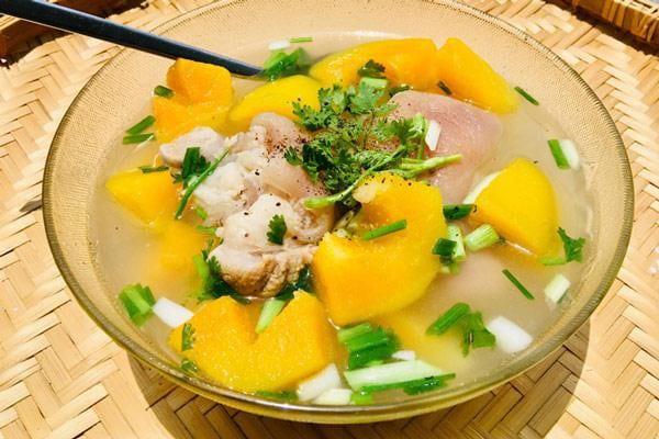 Chân giò hầm Đu Đủ là món ăn ngon, chứa nhiều dưỡng chất