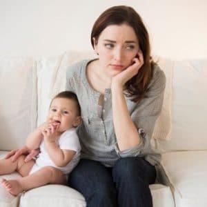 Stress cũng khiến sữa mẹ về không đều nhau