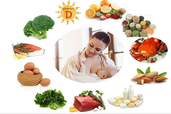 Bổ sung đầy đủ dưỡng chất để nguồn sữa chất lượng cho con