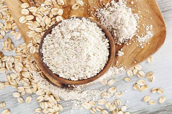 Hạt yến mạch được xay nhuyễn và dùng để làm lương thực, ngũ cốc