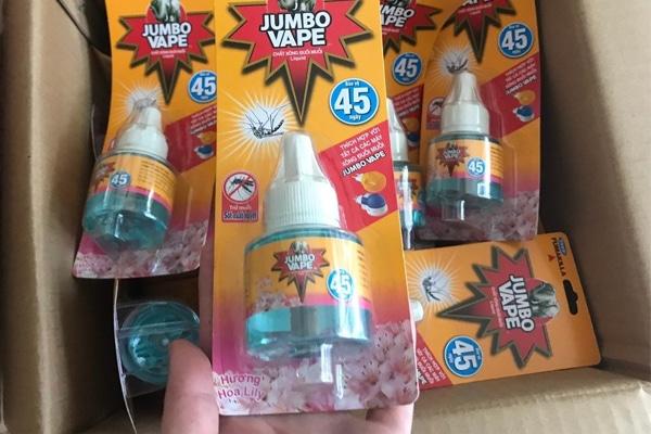 Tinh dầu đuổi muỗi Nhật Bản Jumbo Vape được nhiều khách hàng tin dùng hiện nay