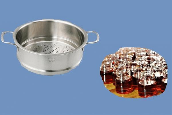Hướng dẫn làm tinh dầu gấc bằng phương pháp hấp cách thủy