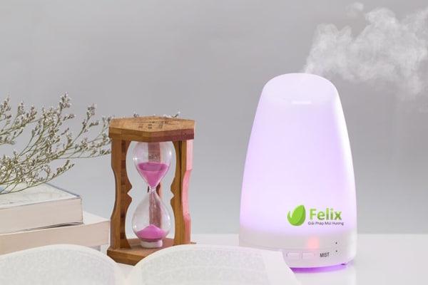 Xông hương tinh dầu giúp không gian phòng thơm mát và sạch côn trùng