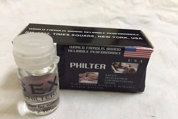 Sex philter là thuốc kích dục nữ dạng nước được khá nhiều chị em lựa chọn