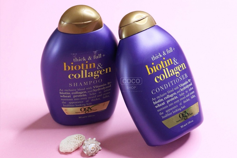 Dầu gội trị rụng tóc Biotin Collagen