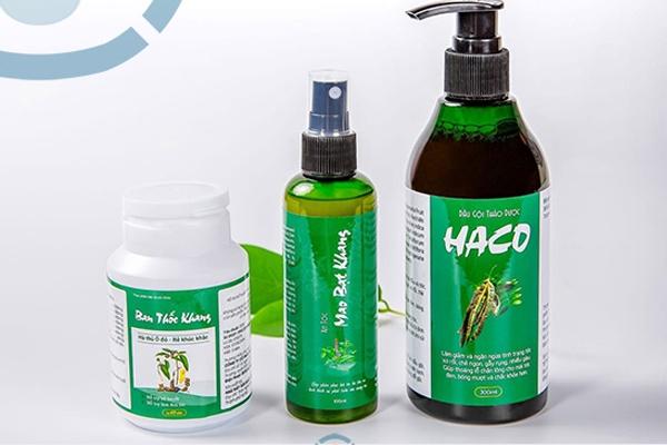 Bộ thuốc chống rụng tóc Haco