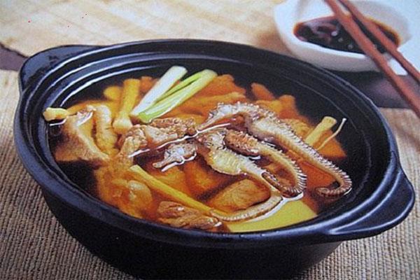 Hải mã còn có thể sử dụng để chế biến một số món ăn giúp bồi bổ sức khỏe