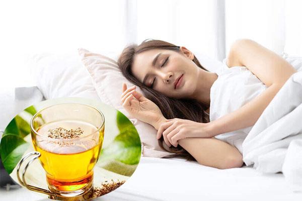 Sử dụng chè vằng thường xuyên giúp tăng chất lượng giấc ngủ