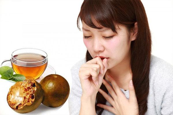 Quả la hán còn hỗ trợ điều trị lao phổi, viêm họng