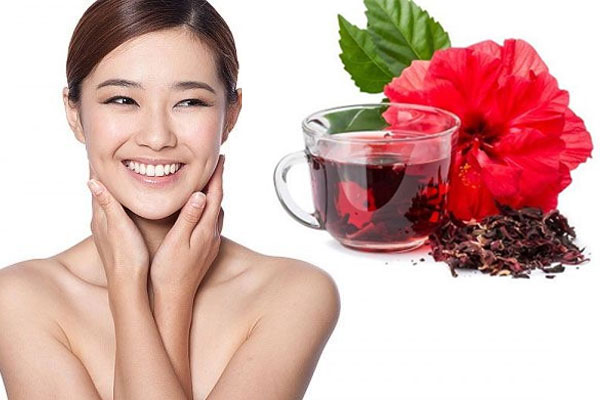 Hoa dâm bụt hỗ trợ điều trị viêm mạc cấp tính