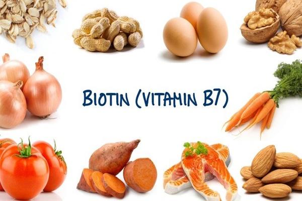 Thực phẩm chứa nhiều vitamin B7