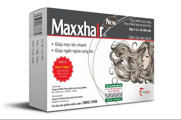 Viên uống điều trị rụng tóc Maxxhair