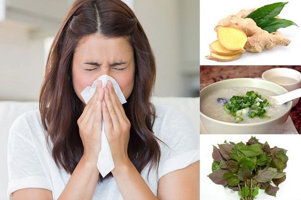 Uống nước tía tô giúp chữa cảm mạo, nhức đầu