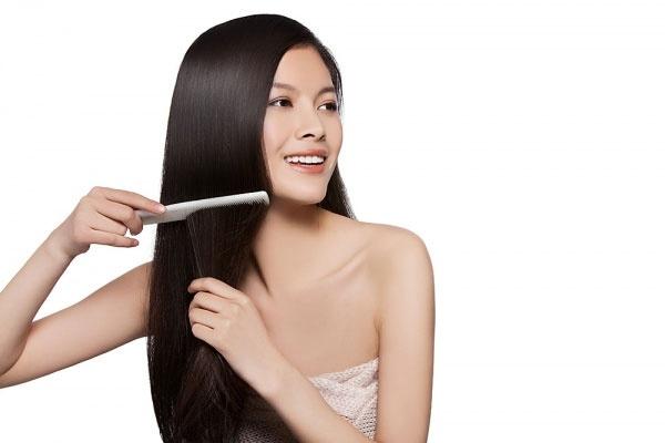 Chăm sóc mái tóc đúng cách giúp các mẹ luôn có một mái tóc suôn mượt