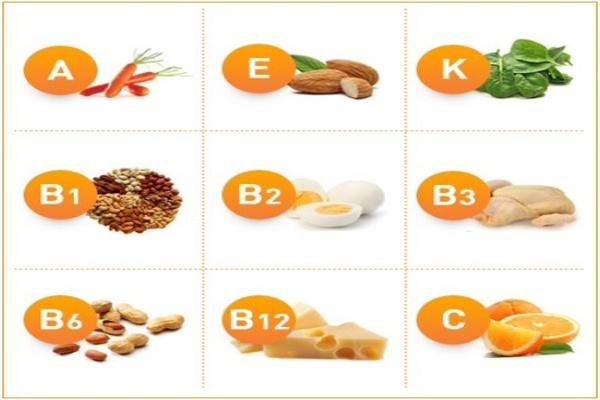 Nhóm các vitamin là dưỡng chất cần thiết giúp tóc phát triển và duy trì độ chắc khỏe