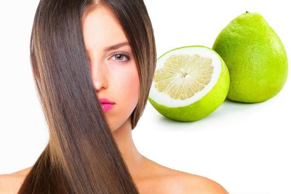 Dùng Vỏ bưởi trị rụng tóc