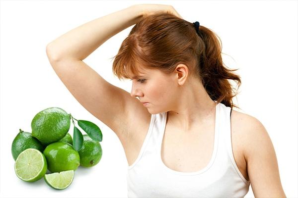 Sử dụng chanh để điều trị hôi nách được nhiều người áp dụng