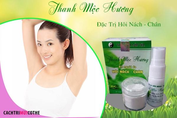 Thanh Mộc Hương là bài thuốc đặc trị hôi nách gia truyền