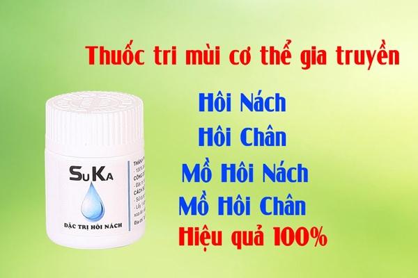 Thuốc trị hôi nách Suka