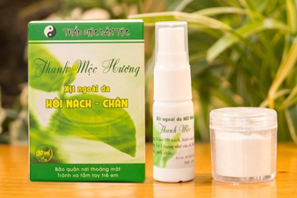 Thuốc trị hôi nách Thanh Mộc Hương