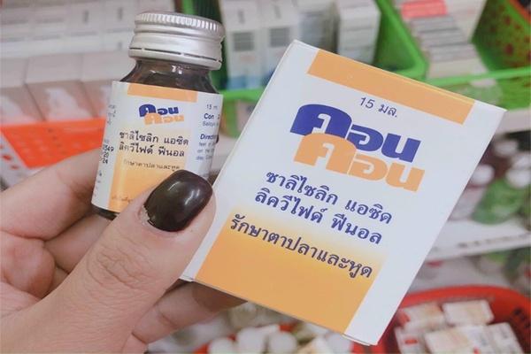 Con Con - Thuốc trị mụn cóc hàng đầu Thái Lan