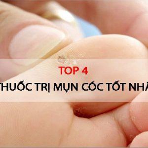 Top 4 thuốc trị mụn cóc tốt nhất hiện nay