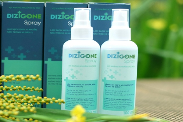 Dung dịch trị nấm móng Dizigone có khả năng diệt nấm cực tốt