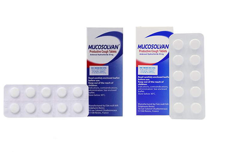 Thuốc viên nén Mucosolvan để uống