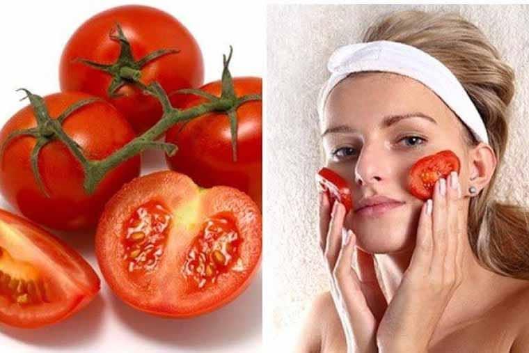 Trị thâm mắt hiệu quả với cà chua