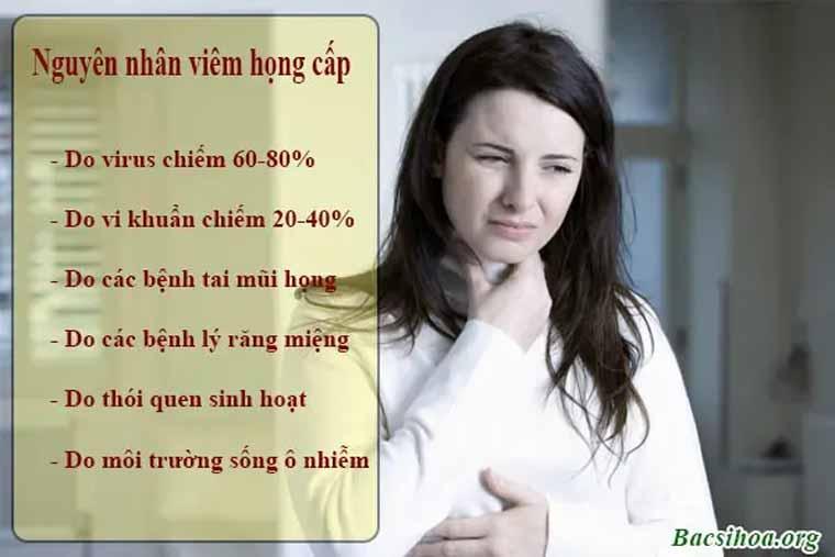 Virus là tác nhân hàng đầu gây bệnh viêm họng