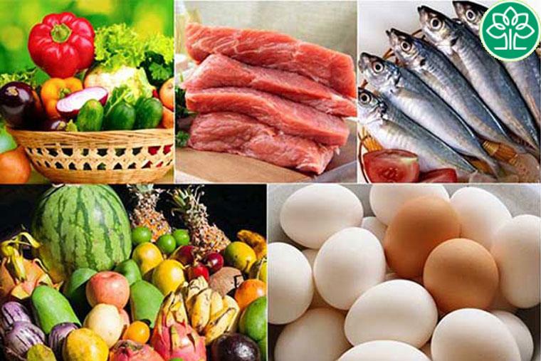 Những thực phẩm người bệnh nên ăn