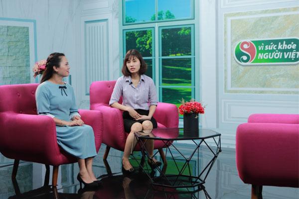 BS: Phượng chia sẻ về kiến thức chữa bệnh da liễu trong chương trình vì sức khỏe người Việt