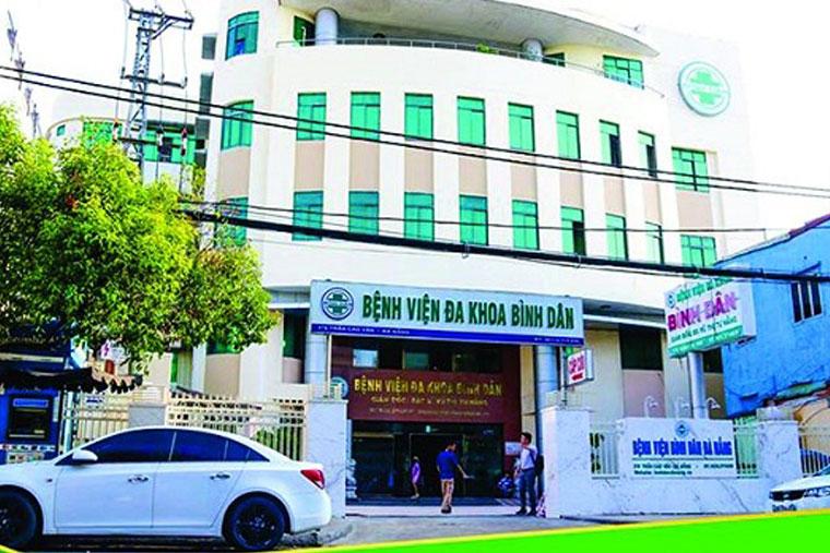 Bệnh viện Đa khoa Bình Dân Đà Nẵng có cơ sở vật chất hiện đại