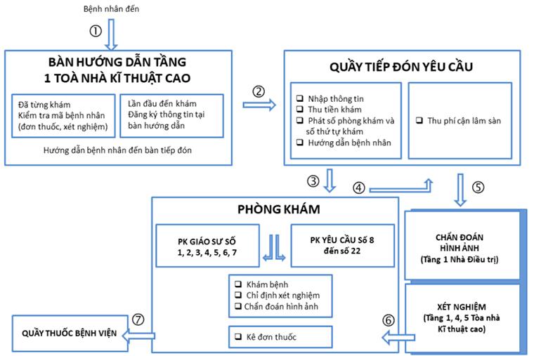 Sơ đồ cơ cấu tổ chức của bệnh viện Da liễu tại Đà Nẵng