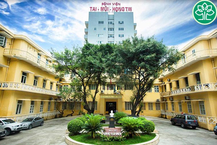 Bệnh viện Tai – Mũi – Họng TW, địa chỉ cắt amidan hàng đầu
