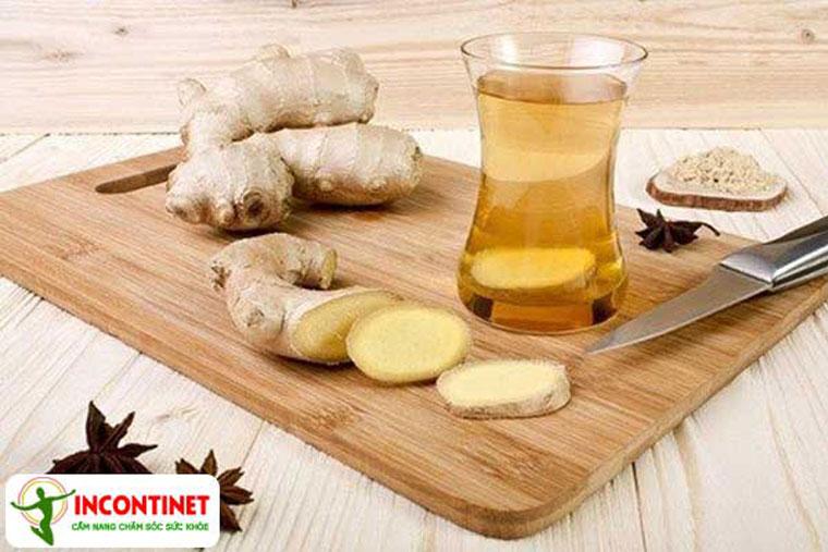 Gừng cũng là một trong những loại thảo dược có tính ấm, điều hòa thân nhiệt hữu hiệu
