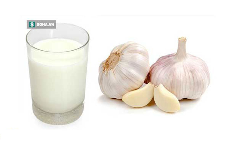 Cách chữa đau họng bằng tỏi và sữa