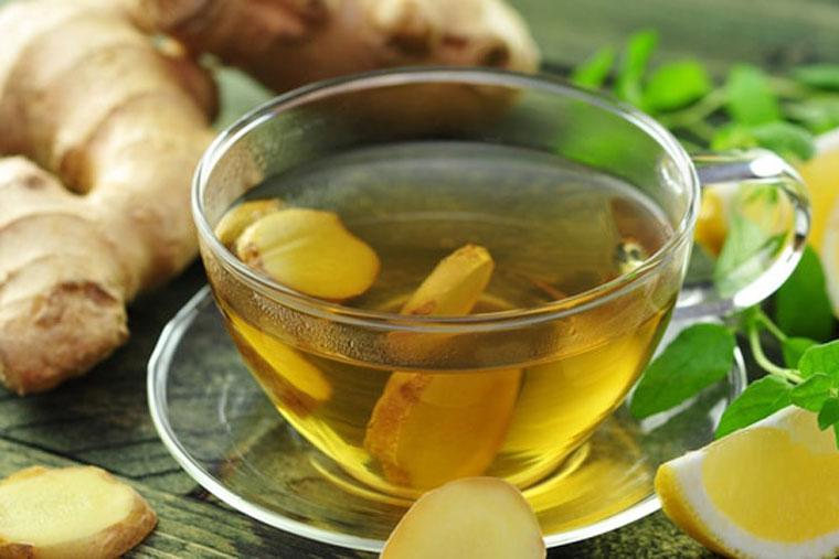 Sử dụng trà gừng để kích thích lưu thông máu đến dương vật