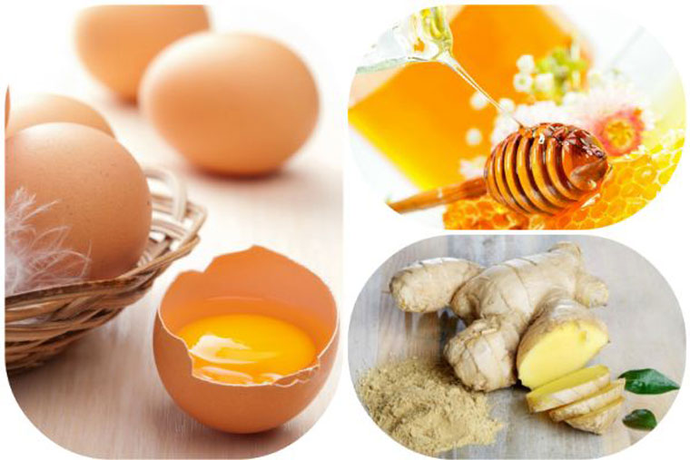 Chữa xuất tinh sớm bằng gừng tươi và trứng gà