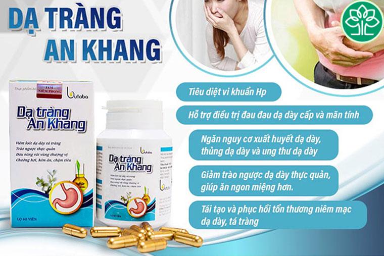 Sản phẩm đem đến hiệu quả cao đối với các cơn đau dạ dày