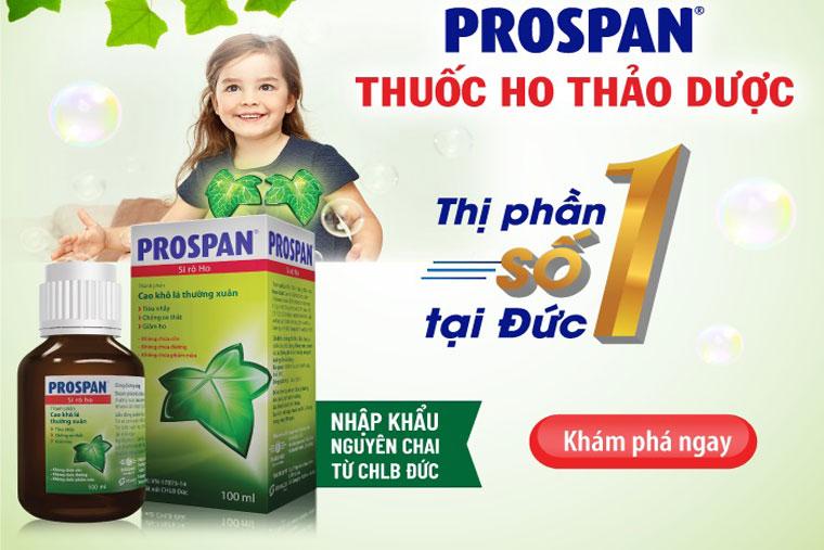 Thuốc prospan dùng được cho trẻ