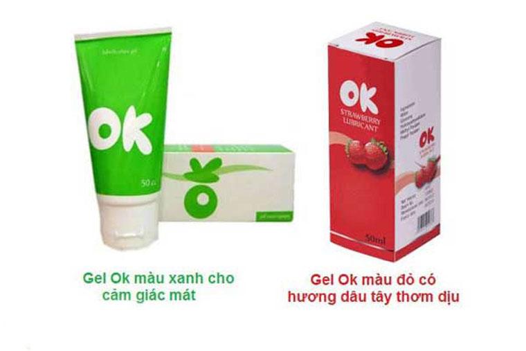 Các thành phần của gel ok khá an toàn với sức khỏe của người dùng